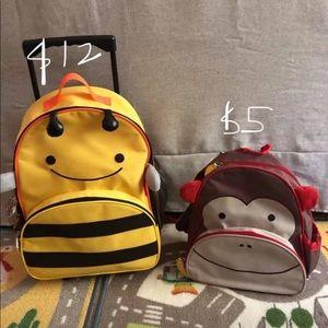 Skip Hop rolling luggage & backpack for toddler